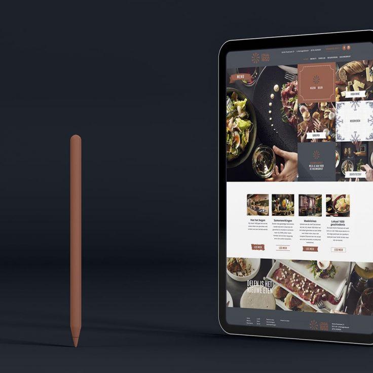 Lok Website Visual